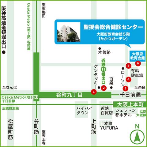 最寄り駅は「大阪上本町」