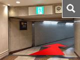 近鉄11番出口をお進み下さい。