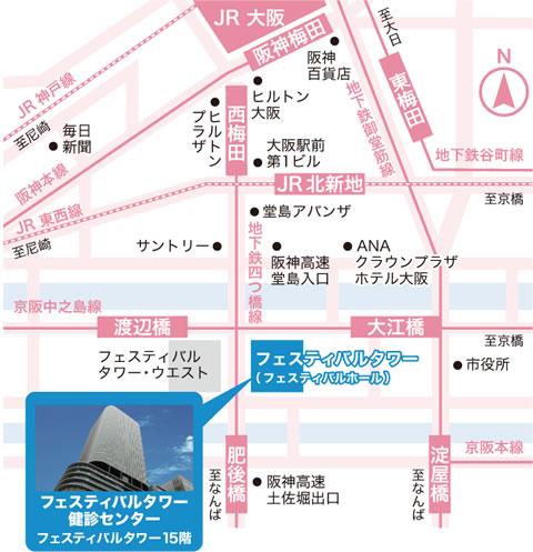 最寄り駅は「渡辺橋駅」「肥後橋駅」
