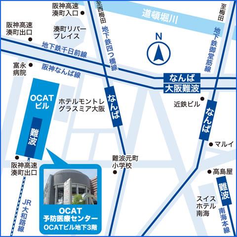 最寄り駅は「JR難波駅」