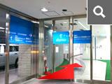 OCAT予防医療センターの入り口がございます。